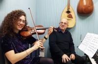 Cours violon oriental Mariam