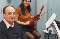 cours violon oriental Hana